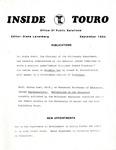Inside Touro September 1984
