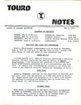 Touro Notes May 2, 1977