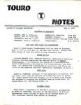 Touro Notes May 2, 1977