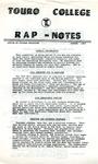 Rap - Notes August 1977