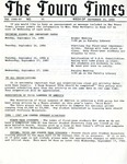 The Touro Times Vol. 1986-87 No. 25