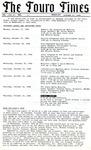 The Touro Times Vol. 1986 - 87 No. 31