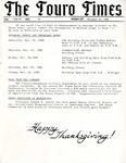 The Touro Times Vol. 1986 - 87 No. 35