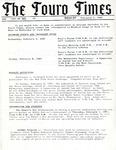 The Touro Times Vol. 1987 - 88 No. 39