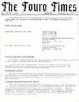 The Touro Times Vol. 1987 - 88 No. 41