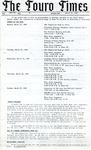 The Touro Times Vol. 1987 - 88 No. 46