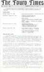 The Touro Times Vol. 1987 - 88 No. 1