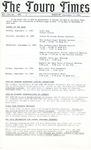The Touro Times Vol. 1987 - 88 No. 3