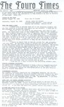 The Touro Times Vol. 1988 - 89 No. 1