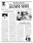 Alumni News Volume 1 No. 2 by Touro College Barry Z. Levine School of Health Sciences