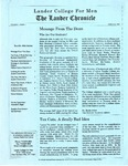 The Lander Chronicle Volume I Issue I