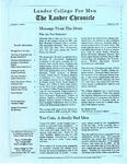 The Lander Chronicle Volume I Issue I