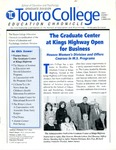Education Chronicle Issue 2 Number 2 by Touro College School of Education and Psychology - Graduate Division