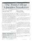 Touro College Libraries Newsletter Vol. I No. 1