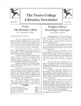 Touro College Libraries Newsletter Vol. 5 No. 1