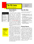 TCL Letter Volume 5 Issue 1