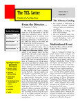 TCL Letter Volume 5 Issue 2