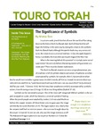 Touro Torah Volume 2 Issue 1