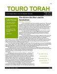 Touro Torah Volume 2 Issue 3