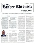 The Lander Chronicle Volume 8 Issue I by Lander College for Men