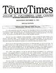 The Touro Times December 13, 1995
