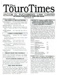 The Touro Times October 23, 2000 by Touro Law Center
