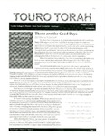 Touro Torah Volume 3 Issue 2