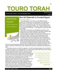 Touro Torah Volume 3 Issue 7