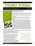 Touro Torah Volume 4 Issue 9