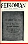 The Chironian Vol. 10 No. 1