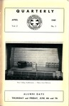 Quarterly of the Alumni Association of the New York Medical College Vol. 2 No. 1