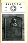 Quarterly of the Alumni Association of the New York Medical College Vol. 2 No. 2