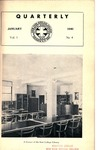 Quarterly of the Alumni Association of the New York Medical College Vol. 1 No. 4