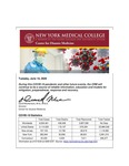 COVID-19 Newsletter (vol. 23) by Center for Disaster Medicine, New York Medical College