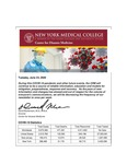COVID-19 Newsletter (vol. 25) by Center for Disaster Medicine, New York Medical College