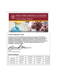 COVID-19 Newsletter (vol. 38) by Center for Disaster Medicine, New York Medical College