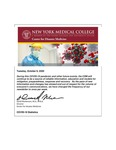 COVID-19 Newsletter (vol. 40) by Center for Disaster Medicine, New York Medical College