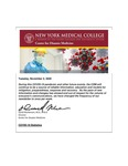 COVID-19 Newsletter (vol. 44) by Center for Disaster Medicine, New York Medical College