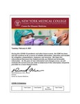 COVID-19 Newsletter (vol. 58) by Center for Disaster Medicine, New York Medical College
