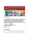 COVID-19 Newsletter (vol. 61) by Center for Disaster Medicine, New York Medical College