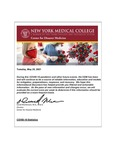 COVID-19 Newsletter (vol. 73) by Center for Disaster Medicine, New York Medical College