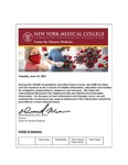 COVID-19 Newsletter (vol. 76) by Center for Disaster Medicine, New York Medical College