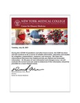 COVID-19 Newsletter (vol. 81) by Center for Disaster Medicine, New York Medical College